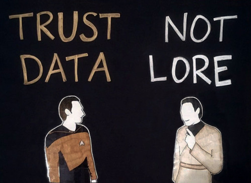 Data and Lore from Star Trek