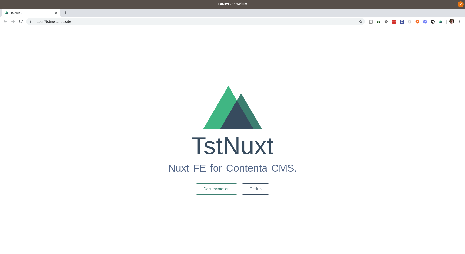 Tandem | Lando + Contenta CMS + Nuxt Pt  1